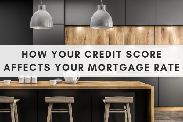 How your credit score affects your mortgage rate banner