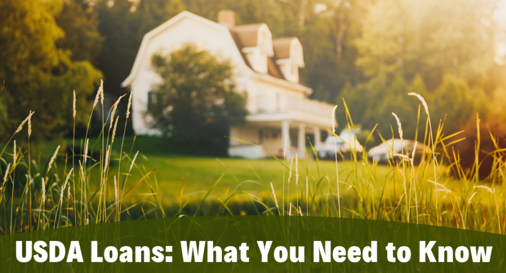 USDA Loans: What you need to know banner